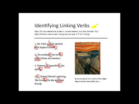 2 Identifying Main Verbs