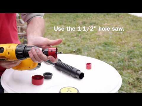 How to Build a Rain Barrel in 5 Minutes / DIY