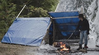 Building a Long-term Camp in the Canadian Wilderness | FULL DOCUMENTARY - Camp Firlend