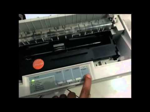 Cara merubah Huruf  font di printer lx 300 + II