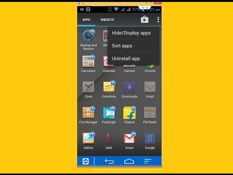 How to Hide Apps in Android Phone Without App (Jelly Bean)