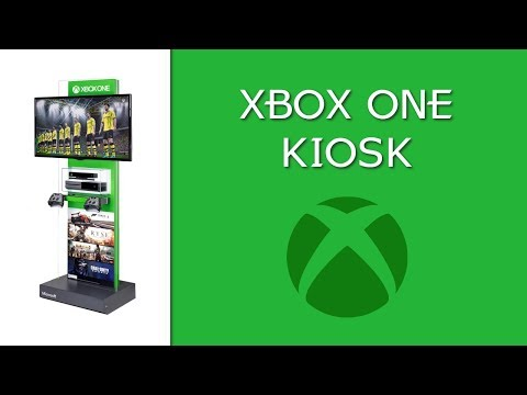 MICROSOFT - XBOX ONE KIOSK - COMPLETE
