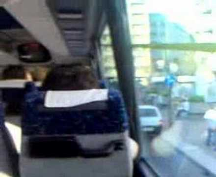 At Shuttle bus from down town to Airport Bergamo (Milan)