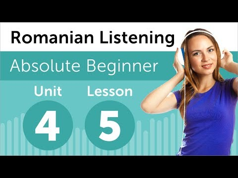 Romanian Listening Practice - Arranging Furniture in a Room
