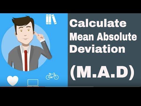 Calculate Mean Absolute Value (M.A.D)