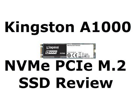 KINGSTON A1000 480GB M.2 NVMe PCIe 3.0 x2 SSD Review