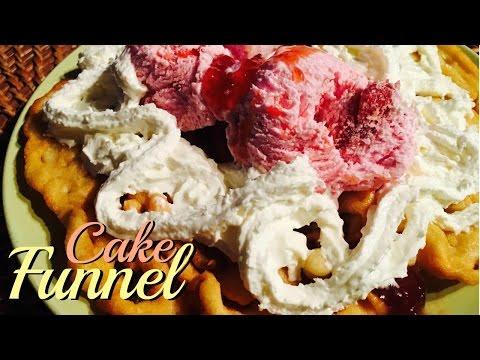 COMO HACER UN DELICIOSO FUNNEL CAKE!- PRISSMA