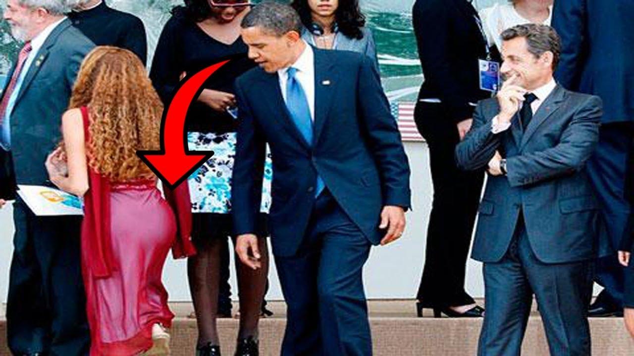 نسوا أنهم رؤساء العالم... أنظروا ماذا فعلوا أمام الكاميرا !!