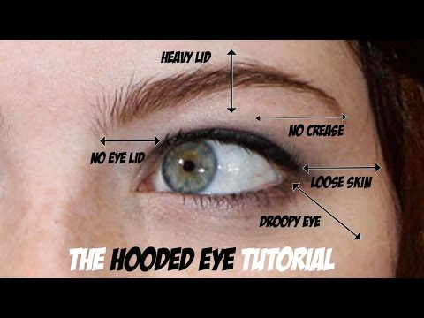 HOODED EYE TRICK FOR LOOSE SKIN ON THE EYES - LIFT THE EYES!