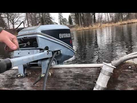 1972 Johnson 25hp outboard motor