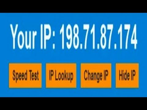 Change Your IP Address / Hide Your Real IP