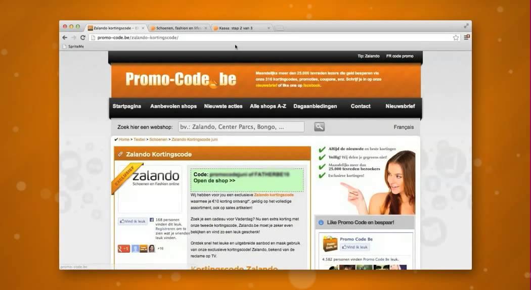 Zalando kortingscode voor België