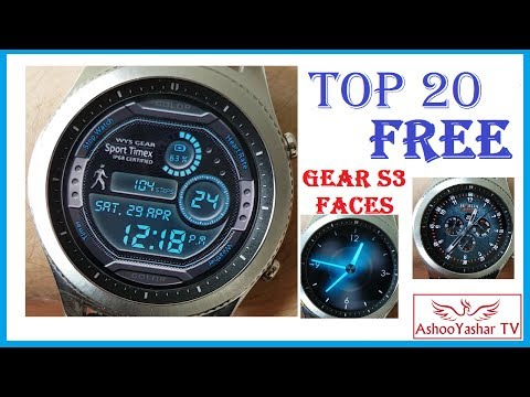 Gear S3 top 20 FREE watch faces - Best Gear S3 watch faces 2017