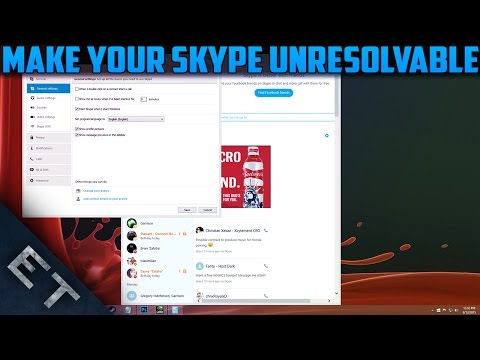 How To Make Your Skype Unresolvable! (Never Get DDoSed!)