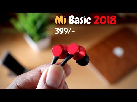 Latest Mi basic earphones review 2018   The Budget Beast🔥🔥