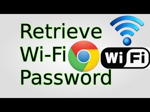 How to Retrieve Lost/Forgotten Wi-Fi Passwords (Windows 7/Vista)