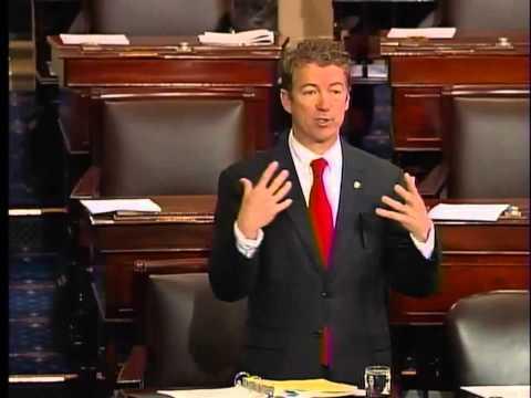 030613 - Sen. Rand Paul Senate Filibuster - HOUR 2