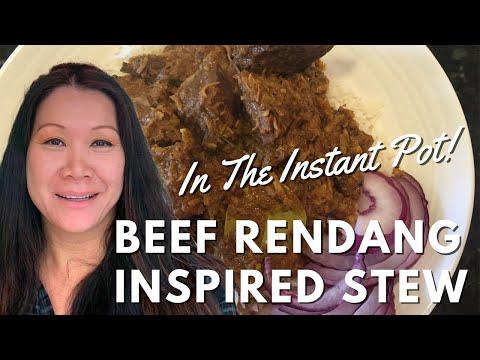 Beef Rendang - Instant Pot Recipe
