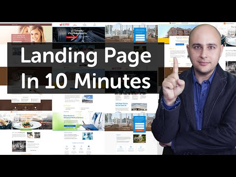 How To Create A High Converting Landing Page For Your WordPress Website In 10 Minutes