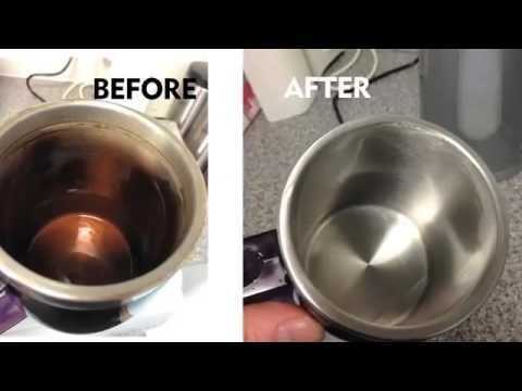 How to clean cup (Astonish Tea and Coffee)