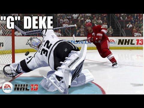 NHL 13: The Best Deke for Breakaways, Penalty Shots, Shootouts!