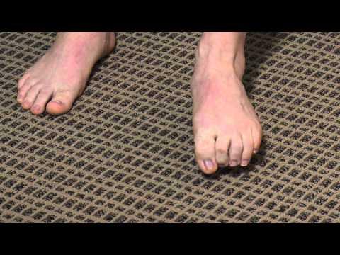 Toe & Arch Strengthening Exercise Demonstration