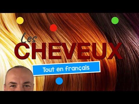 Décrire les cheveux en français avec Pascal