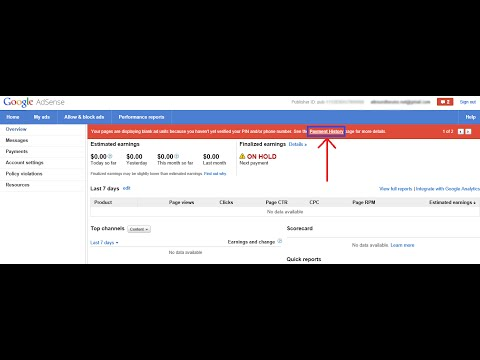 How to Verify Address in Google AdSense by email without PIN - EASY STEP 100% Works