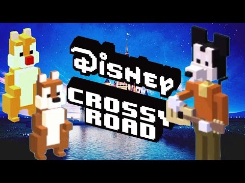 how to unlock MICKEY & FRIENDS Secret Characters in DISNEY CROSSY ROAD | iOS, Android