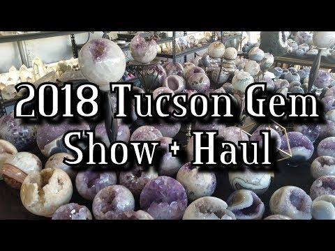 Tucson Gem Show 2018 + Crystal Haul