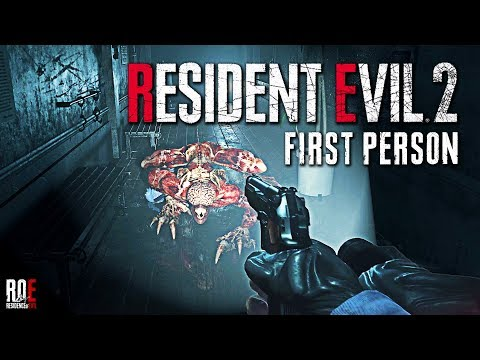 RESIDENT EVIL 2: REMAKE | FIRST PERSON MOD