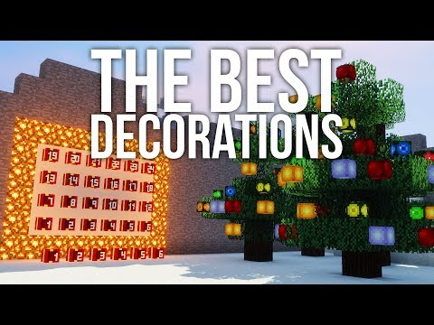 The Best Christmas Decorations Using Player Heads in Minecraft
