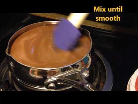 Jel-Ring Mold Chocolate Cream Layer Dessert