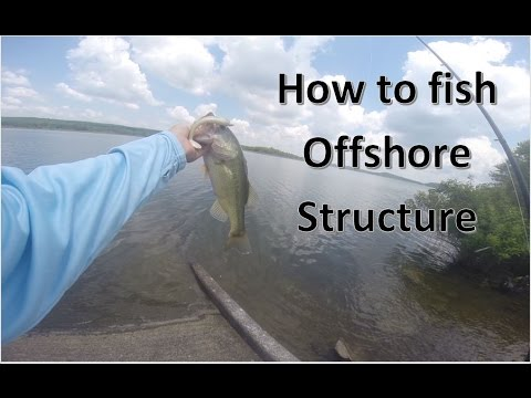 How to Fish Offshore Structure from the Bank for Bass