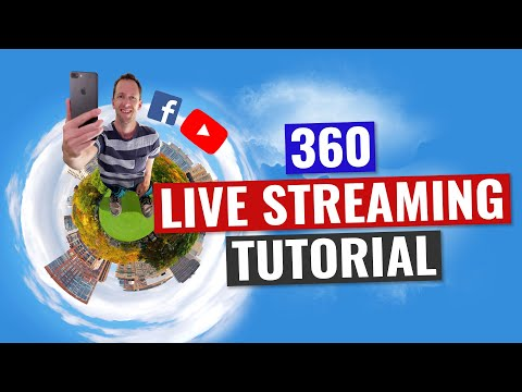 360 Live Streaming Tutorial: 360 Degree Video on Facebook Live and YouTube!