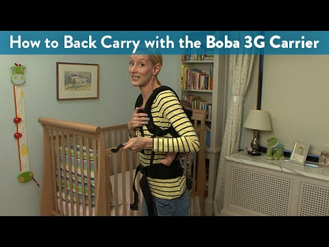 How to Back Carry With the Boba 3G Carrier | CloudMom