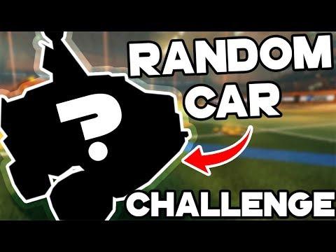 RANDOM CAR CHALLENGE | Rocket League