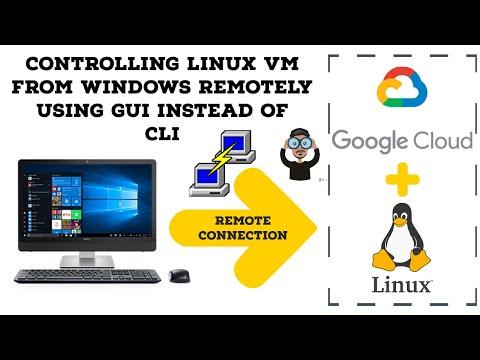 Accessing an Ubuntu VM on GCP using the mstsc tool on windows