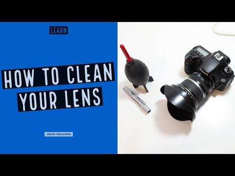 How to Clean Your DSLR Lens