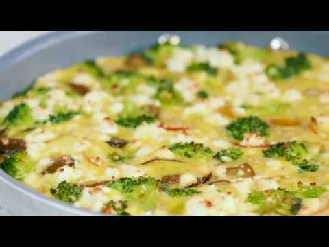 Make a Vegetable and Goat Cheese Frittata in 25 Minutes | Cooking Light