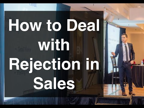 How to Deal with Rejection in Sales