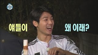 [I Live Alone] 나 혼자 산다 - Kang Min hyuk Celebrity after studying well 20151030
