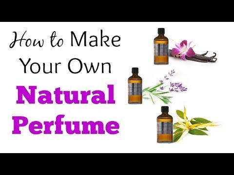 Homemade Natural Perfume  || Diy Perfume | Make Your Own Perfume