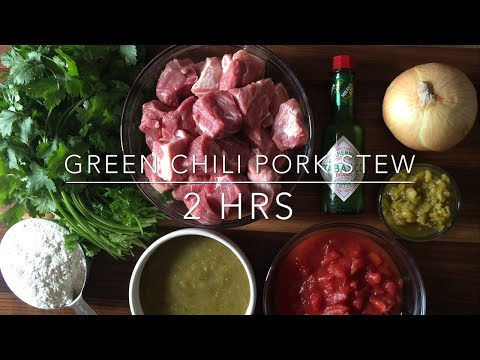 Chili Verde: The BEST Mexican Green Chili Pork Stew Recipe