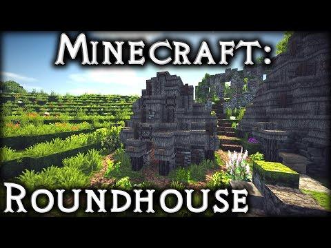 Minecraft: Celtic Roundhouse Tutorial 1