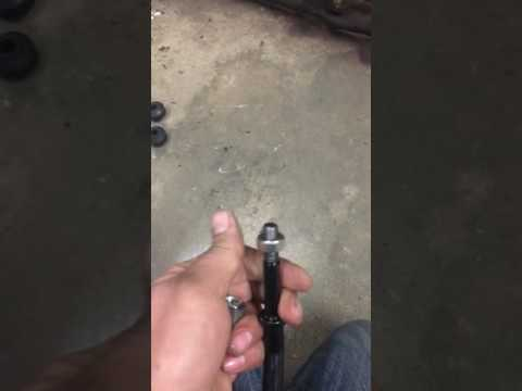 Jeep life hack- making your own extended adjustable sway bar links