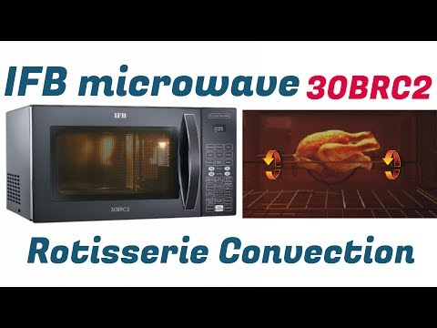How to use IFB microwave 30BRC2 Rotisserie Convection full demo