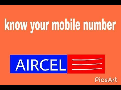 Check your know  aircel number