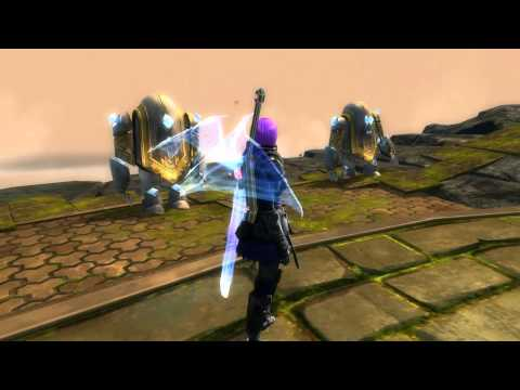 Guild Wars 2 Holographic Dragon Wings