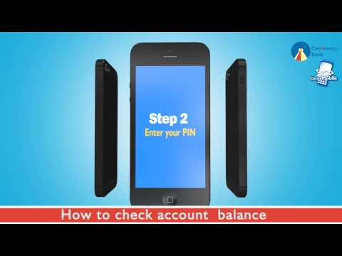 How to Check your Account Balance with Cente Mobile.